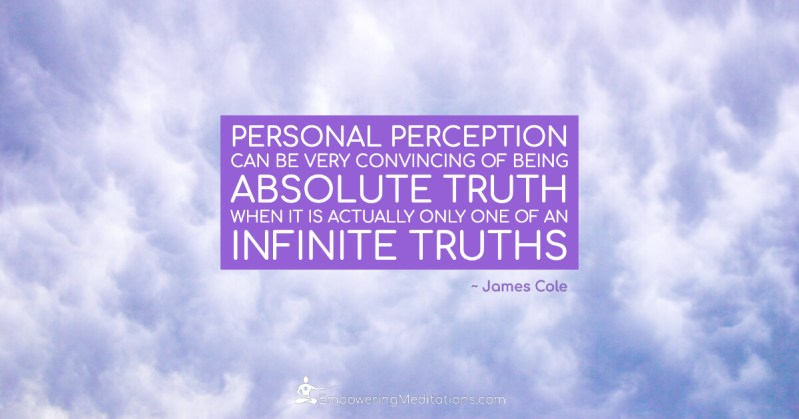 Meme - Personal perception can be very convincing - Page