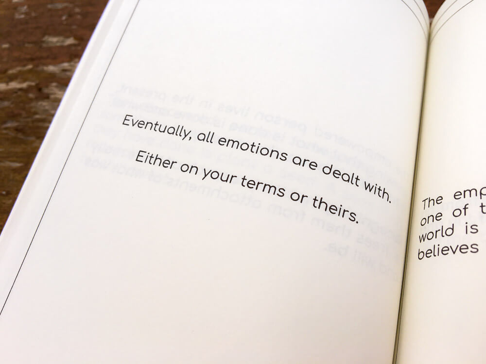 Empowering Thoughts Book all emotions