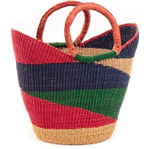 African Basket Tote