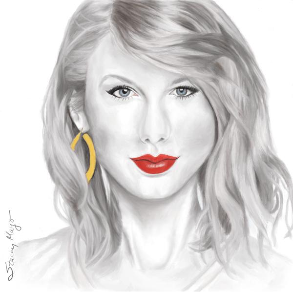 "Taylor Swift 15"" x 15"""
