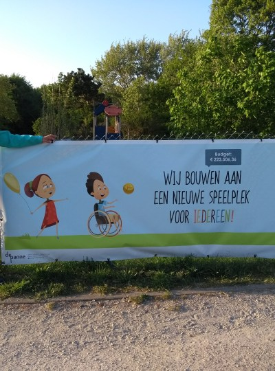 Coming soon, an inclusive playground in De Panne – Belgium