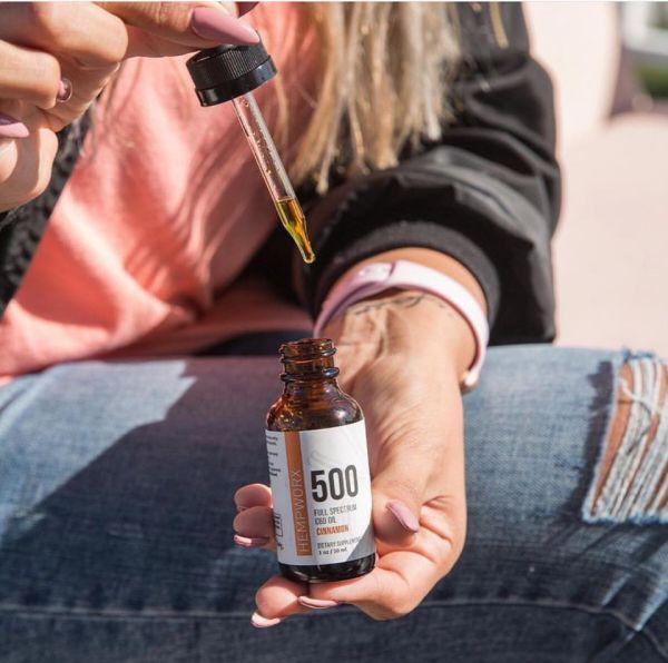 Cinnamon CBD Oil for Women's Health.