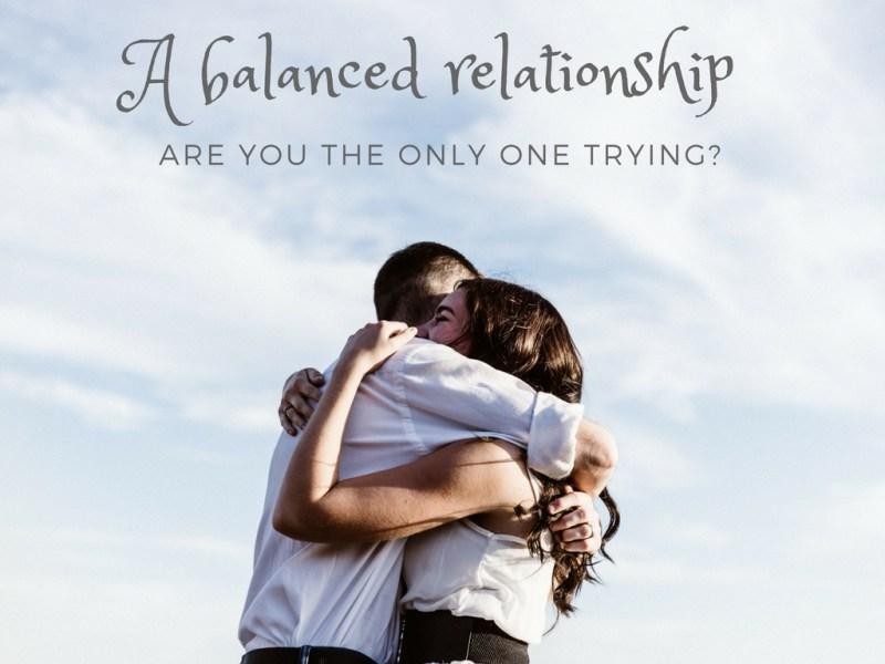 A Balanced Relationship at www.EmpowerTheDream.com