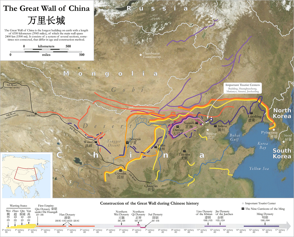 Great Wall Of China Quiz History Timeline Map