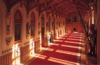 castle windsor rooms hall oldest carpet