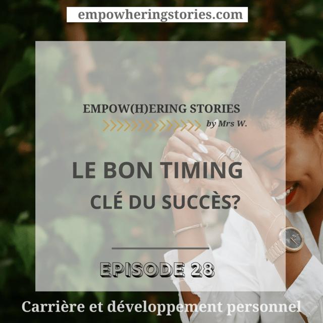 Le bon timing : clé du succès? Échec professionnel, projet qui ne décolle pas, entretien d'embauche raté ? Sur le point d'abandonner? Cet article est pour toi. Tout est-il une simple question de timing ? Décortiquons les raisons de l'échec et les facteurs de succès.