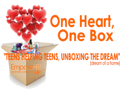 One Heart, One Box- 2018-2019 Advocacy Project