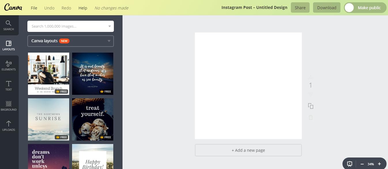→ Usando o canva para fazer as propagandas do consultório nas redes sociais