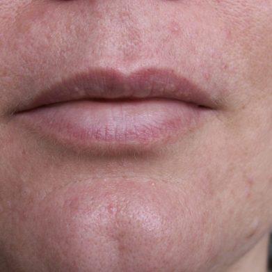 lèvres au naturel