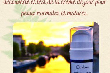 La Crème De Jour Odaloire Pour Peaux Normales Et Matures