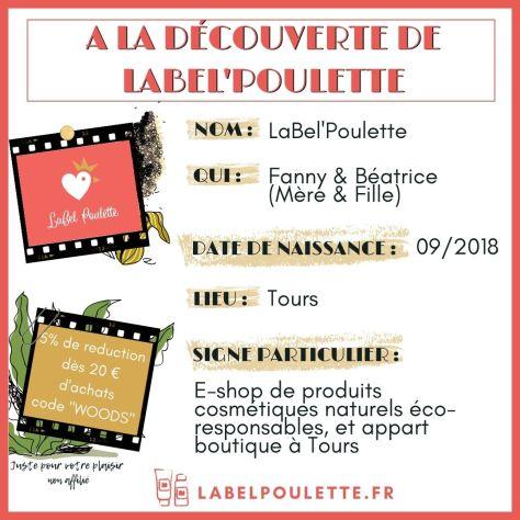 présentation de Label Poulette