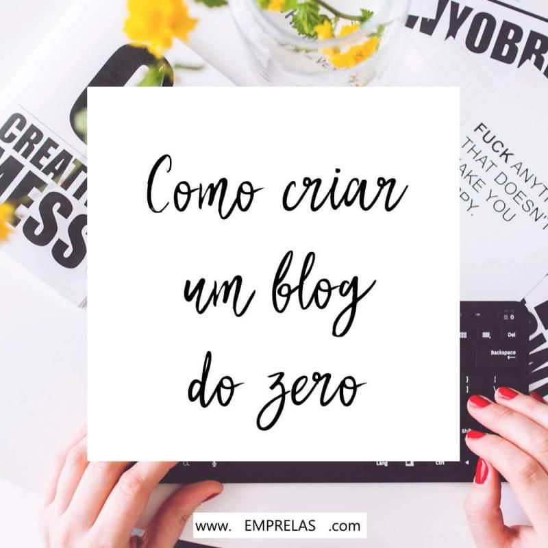 Como criar um blog gratuito do zero