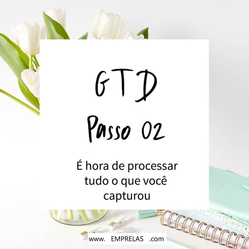 Passo 02 do GTD: esclarecer