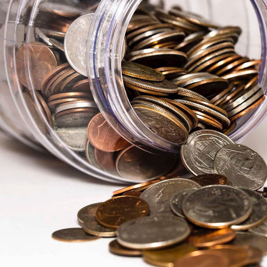 Dinheiro-moedas