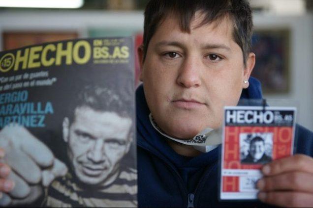 Vendedor Rubén - PH: Luis Abadi
