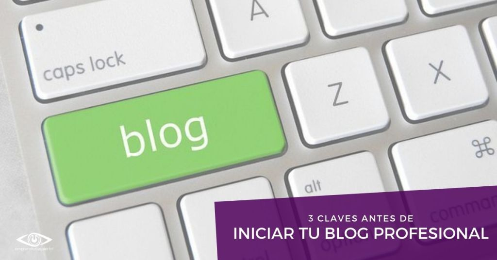 Estrategias antes de iniciar tu blog profesional