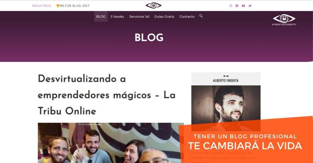 Tener un Blog Profesional te cambiará la vida