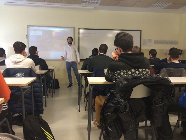 Alberto Enguita Taller Emprendedores Jovenes
