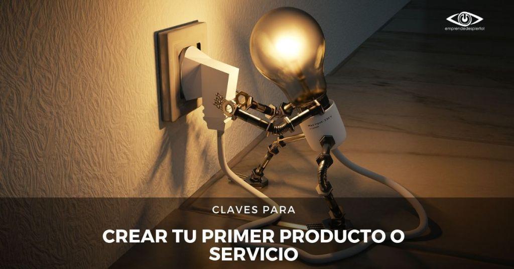 Crear mi primer servicio o producto