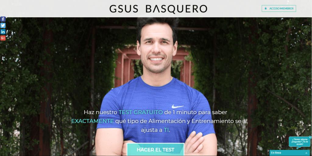 GsusBasquero - Coach Nutricional que te ayudara a conseguir tus objetivos - De empleado a emprendedor Online