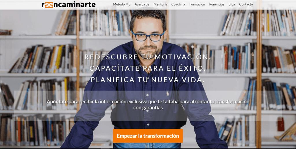 David Garrido Nos Presenta su Proyecto Reencaminarte donde nos ayudara a llegar al siguiente nivel personal y profesional https://reencaminarte.com/