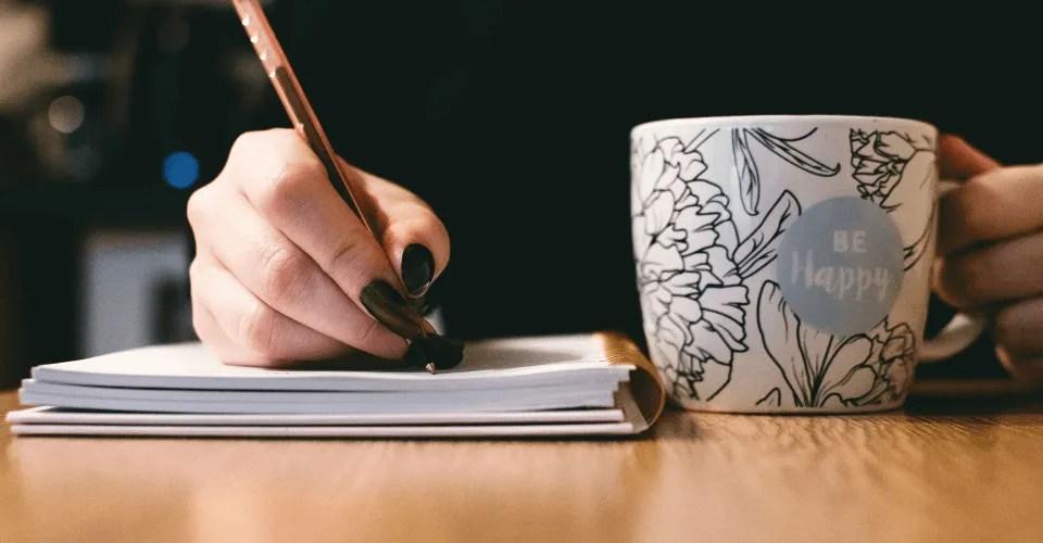 La escritura terapéutica sana