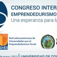 """El 6 y 7 de junio se realizará el """"Congreso Internacional de Emprendedurismo Social"""" en Costa Rica"""