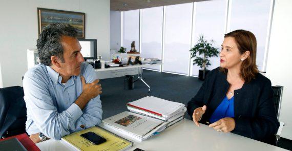 10:00Despacho del consejero El consejero de Innovación, Industria, Turismo y Comercio, Francisco Martín, recibe a la presidenta de la Asociación de Mujeres Empresarias, Eva Fernández Cobo.  28 MAY 18