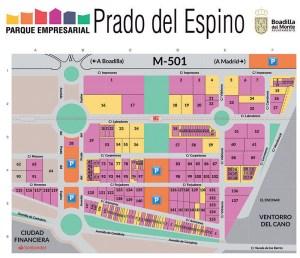 Plano PE Prado del Espino 2021