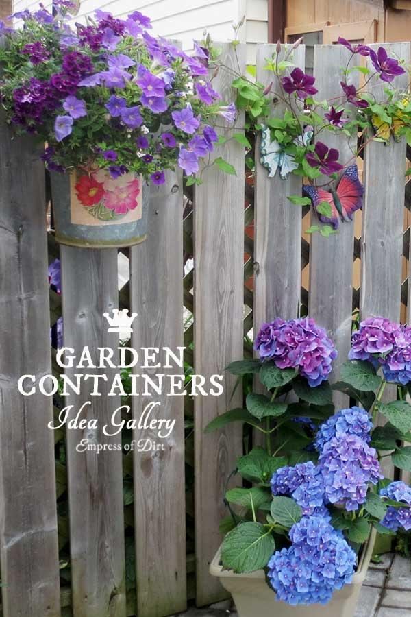 30 Flower Container Ideas To Make Your Garden Wonderful Empress