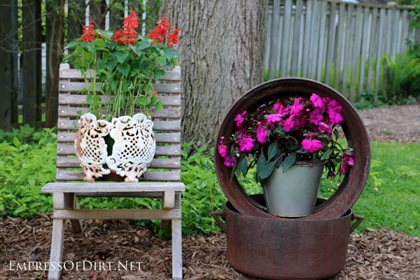 12 Super Simple Garden Art Ideas Empress Of Dirt