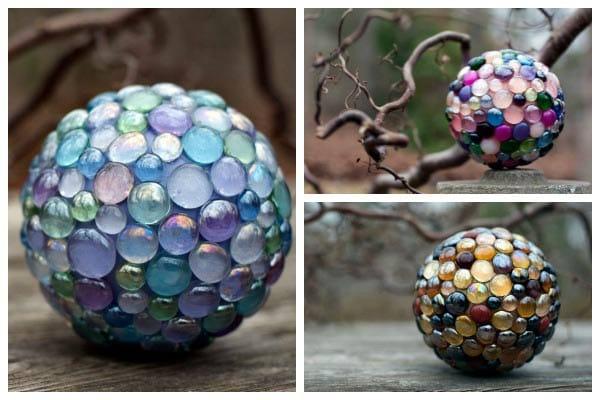 Creative garden balls by Karen Weigert Enos