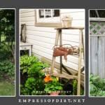 12 Creative And Rustic Garden Art Ladder Ideas Empress Of Dirt