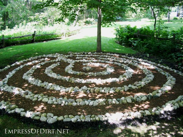 Stone Garden Path Ideas 25 lovely diy garden pathway ideas 18 12 Stepping Stone Garden Path Ideas Empress Of Dirt
