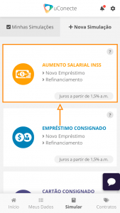 Aumento salarial do INSS na uConecte