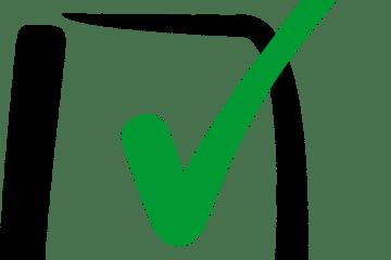 um check representando a validação do contracheque
