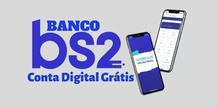 Conta digital banco BS2