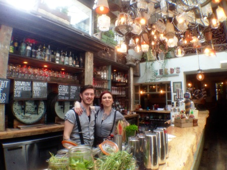 England The Botanist Steampunk bartenders