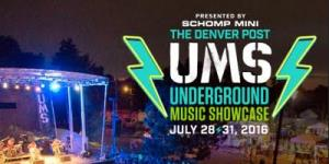 UMS music festivals Denver Colorado