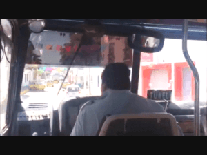 Mexican bus, bus,