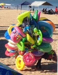 beach vendor, mexico, puerto vallarta