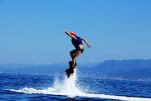 flyboarding, fly boarding, puerto vallarta, mexico. water activities, ocean