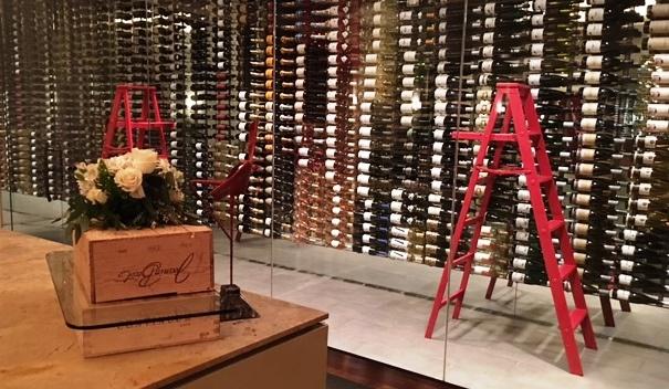 pyramid restaurant, dallas, fairmont, wine, red wine, white wine, wine room