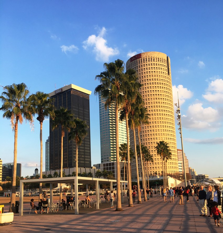 Tampa bay, florida, riverwalk, boardwalk,
