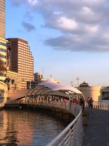 tampa, florida, river walk, boardwalk, walkway, riverway, boats, bay, healthy city