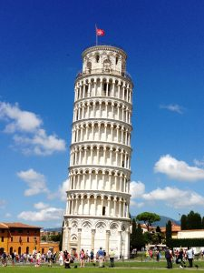 Pisa, leaning tower, Italy, Travel