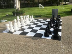 giant chess, outdoor game, yard game,
