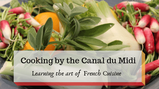 Cooking on the Canal du Midi: Learn the delectable art of French Cuisine 3  David giving us instruction on details of French cooking