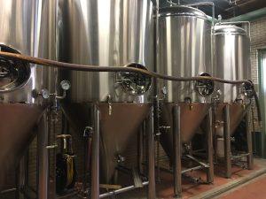 Black Eyed Vodka distilling tanks