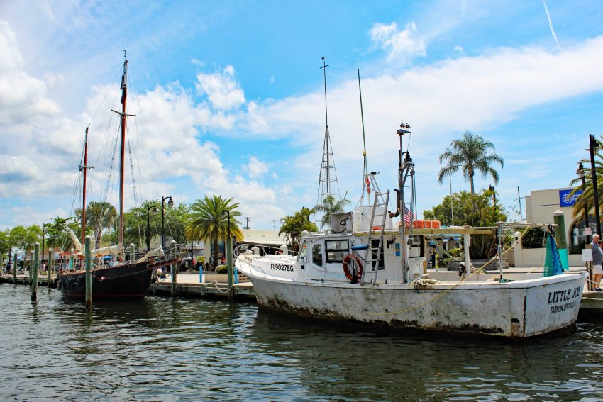"Tarpon Springs - A Slice of Greece in Florida 9 [video width=""1920"" height=""1080"" mp4=""https://empty-nestopia.com/wp-content/uploads/2019/07/Tarpon-Springs-harbor.mp4"" loop=""true"" autoplay=""true""]"